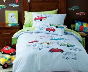 Road trips bed linen for boys   Exquisite Linen and Gifts