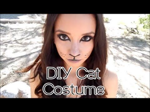 Cat Costume Hair And Makeup