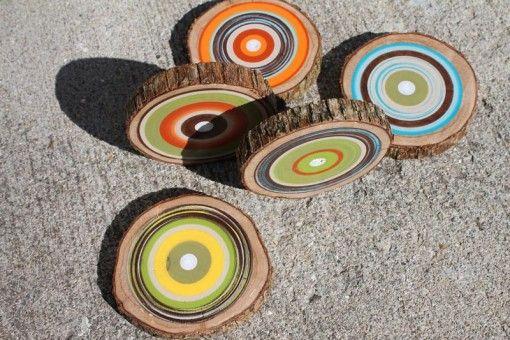 Posavasos de madera