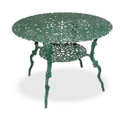 Ornate Cast Iron Vintage Patio Table Urok Rzemios A Cd