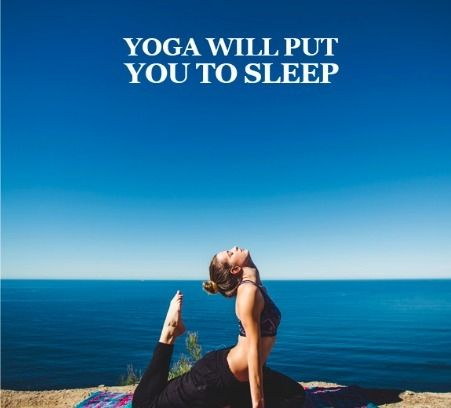 Can't sleep at night. Do some yoga before going to bed. #Yoga will help to calm your body and mind while also improving circulation. #YogaBenefits  Try it out atwww.amandamarieyogi.com