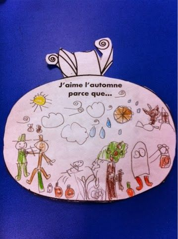 Primary French Immersion Resources: J'aime l'automne parce que…