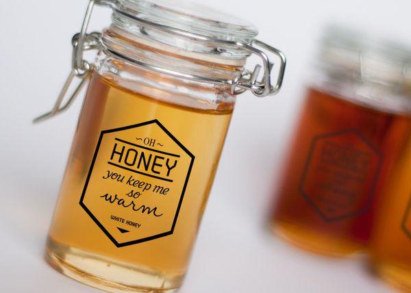 Branding and packaging design for Oh Honey honey. Fictitious proj...