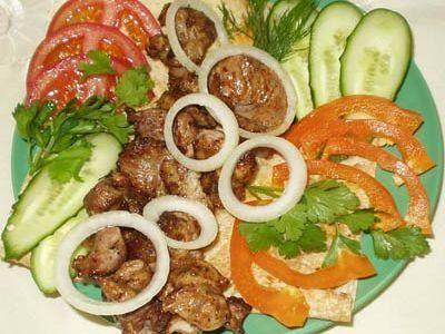 Mäso na cibuli