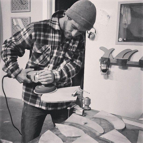 #sanding #fins #wood #handmade #passionhandcraft #surfboards #dfin #handcraft