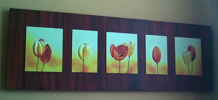 elaboracion de cuadros decorativos con cajas | Cuadro decorativo ...