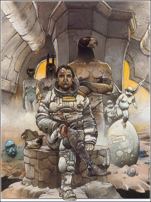 Tomorrow And Beyond by Enki Bilal