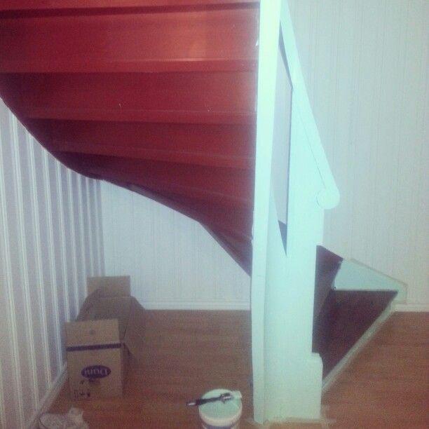 Stairs åaint mint trapp