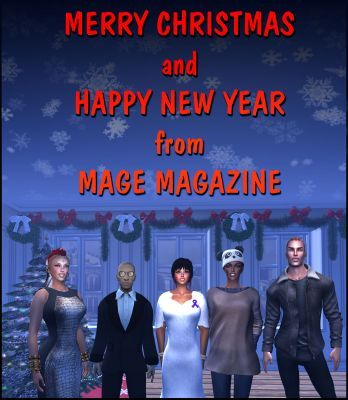 Merry Christmas and Happy New Year from MAGE Magazine