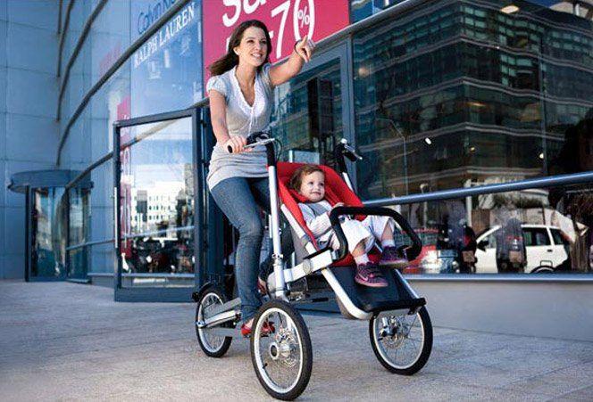 O Taga Trike é uma bicileta e carrinho de bebê ao mesmo tempo. Quando você estiver num parque com seu bebê pode andar tranquilamente com ele como se estivesse em uma bicicleta. Quando for fazer compras, basta poucos ajustes para ele virar um carrinho normal. Ele possuí vários acessórios, inclusive arranjos para duas crianças, assentos cobertos, cesta para compras, etc.Ele não vende no Brasil.via