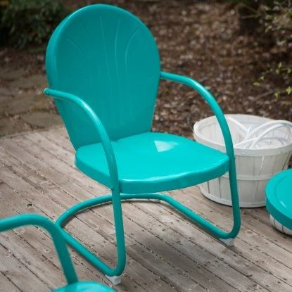 Coral Coast Vintage Retro Chair