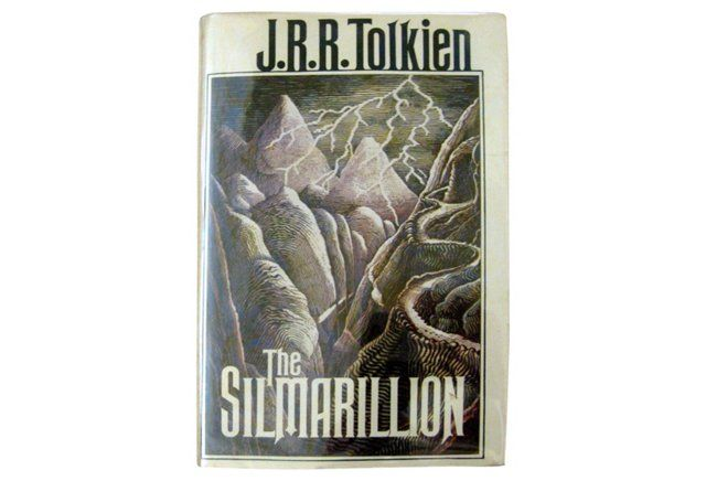 JRR Tolkien's The Silmarillion, 1st Ed