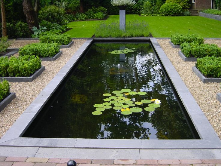 Van de zomer een vijver aanleggen in de tuin   Bucket list   Pinterest   Tuin and Van
