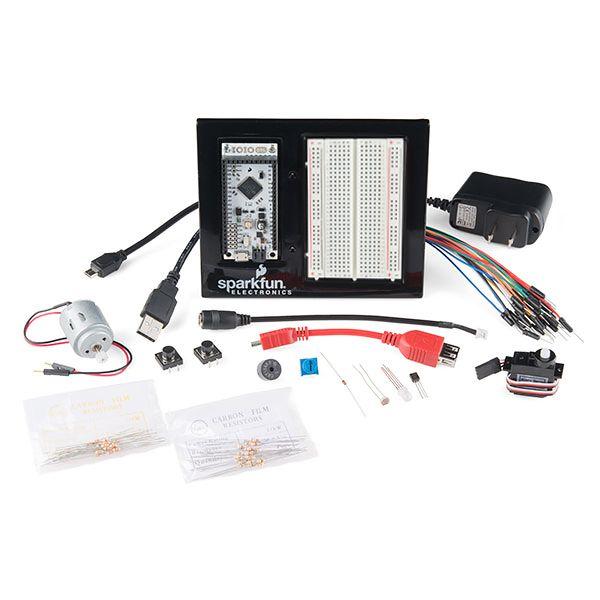 The SIKIO (SparkFun Inventor's Kit for the IOIO Board)