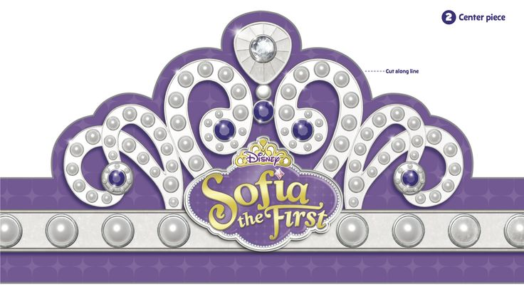 sofia the first crown template - 16 best princess sophia images on pinterest