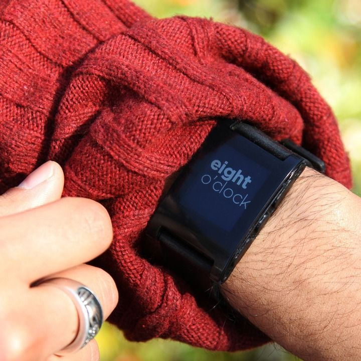 The #Pebble #SmartWatch hits #BestBuy stores on July 7, 2013. #Watches #Tech #Gadgets #Fashion #TechFashion