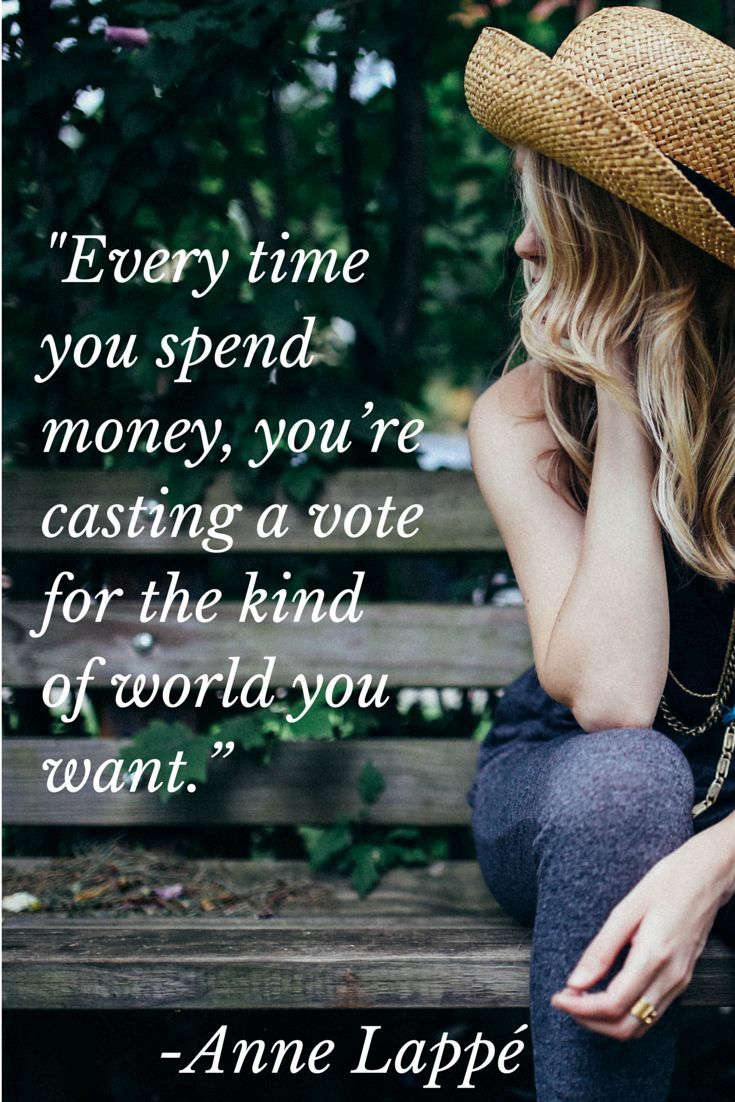 Every time you spend money, you're casting a vote. Soapthatsaves.org