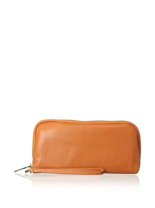 66% OFF Zenith Women's Wallet Wristlet, Orange