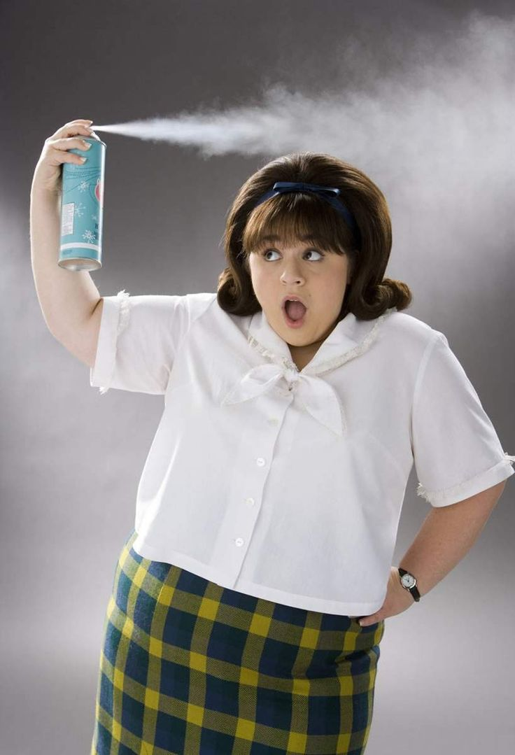 Nikki Blonsky as Tracy Turnblad, Hairspray: This character is a 7 on the enneagram.