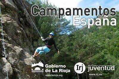 El Gobierno de la Rioja ofrece el programa de Campamentos de verano 2015 en España con más de 2.000 plazas, repartidas entre los campamentos del Instituto Riojano de la Juventud (IRJ) y las ayudas para los campamentos organizados por asociaciones juveniles y ayuntamientos riojanos http://www.campamentos.info/Ultimas-noticias/programa-de-campamentos-de-verano-2014-en-espana-del-instituto-riojano-de-la-juventud