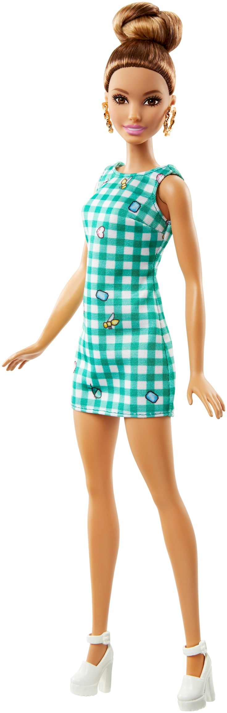 50 Barbie® Fashionistas Doll (Lime Gingham) ORIGINAL