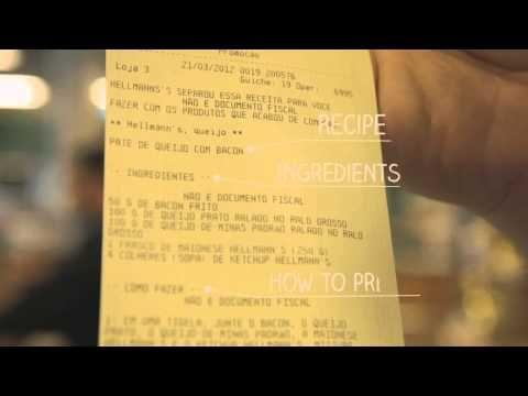 Recipe receipt de Hellmann's.   E-commerce. http://blogmultimediando.wordpress.com/2013/03/11/ecommerce/