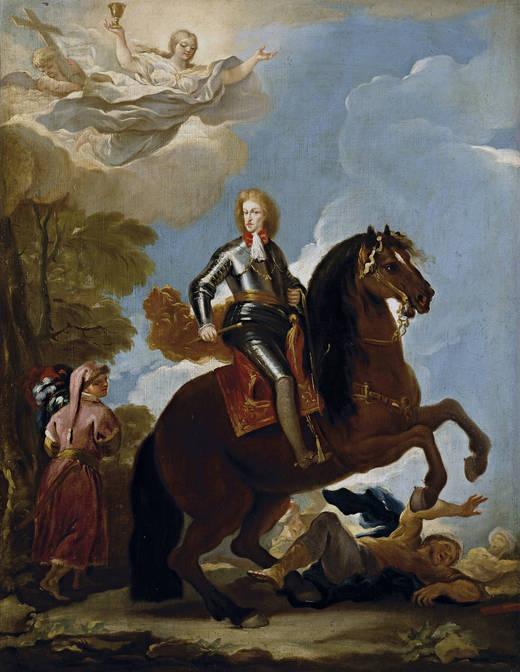 Luca Giordano. Carlos II, rey de España, 1694