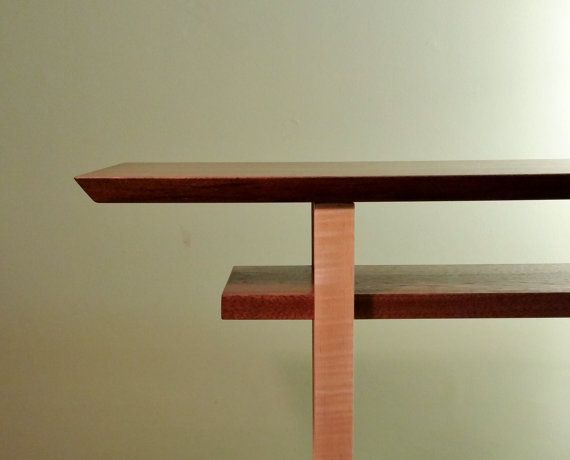 1000 images about a narrow table on pinterest narrow for Narrow console table with shelves