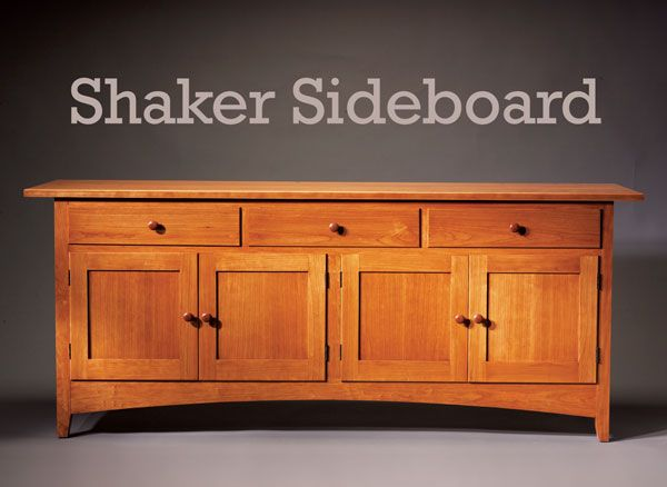 shaker sideboard construction step by step and woodworking. Black Bedroom Furniture Sets. Home Design Ideas