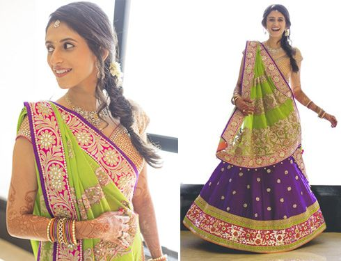 Lehenga For Mehndi Ceremony : Best lehengas images india fashion style