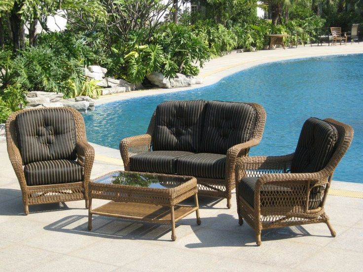 Island Collection Outdoor Wicker Patio Furniture