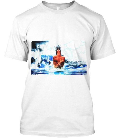 Sweet Mermaid White T-Shirt Front