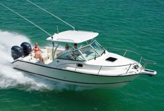 cuddy cabin fishing boat