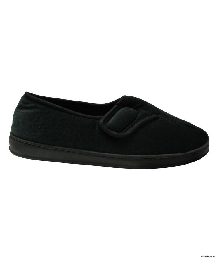 Men's Comfy Wide Slippers - Arthritis - Wide Fit Slipper - Slip Resistant
