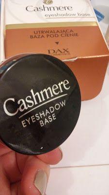 afra3szafra - moje testowanie : Utrwalająca baza pod cienie - Cashmere DAX cosmeti...