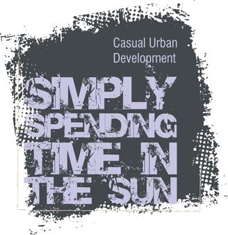Text simply spending time vector illustration in grey colors for printing on t-shirts and apparel products.