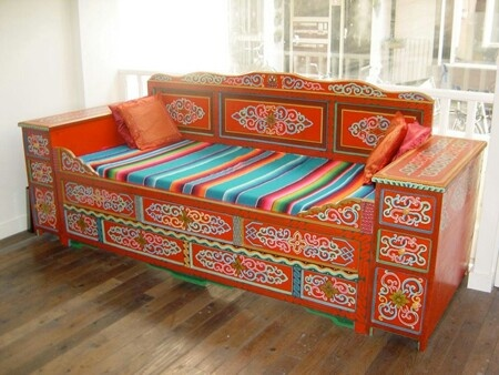 bed/bank mongolie