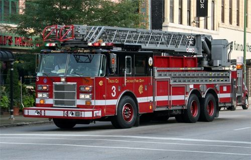 Chicago Fire Dept. Ladder 3 ★。☆。JpM ENTERTAINMENT ☆。★。