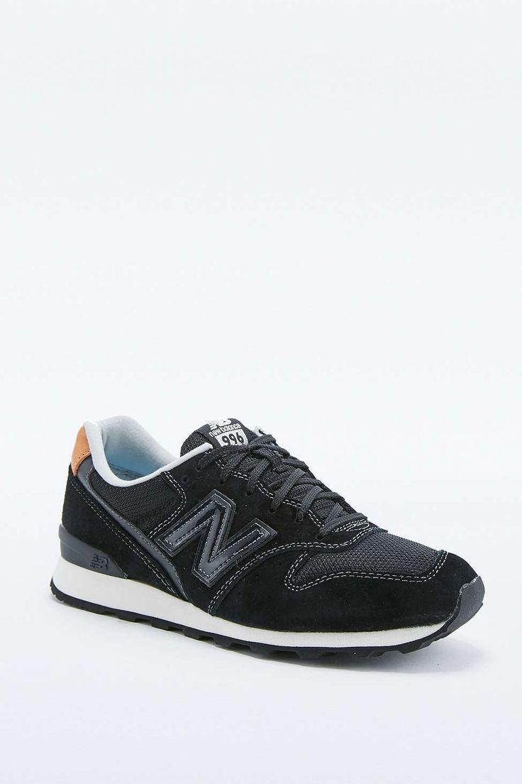New Balance 996 Black Trainers