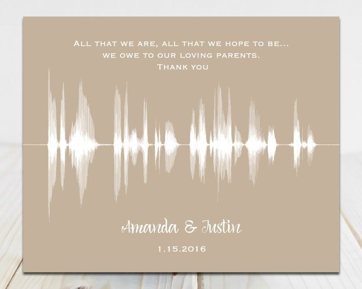 Quote Wedding Day Thank You Gift Vow Artwedding