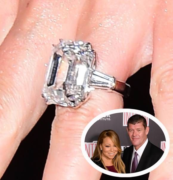 Mariah Carey's HUGE Engagement Ring Rivals Beyoncé's As The Biggest Rock In Hollywood — Look! | PerezHilton.com