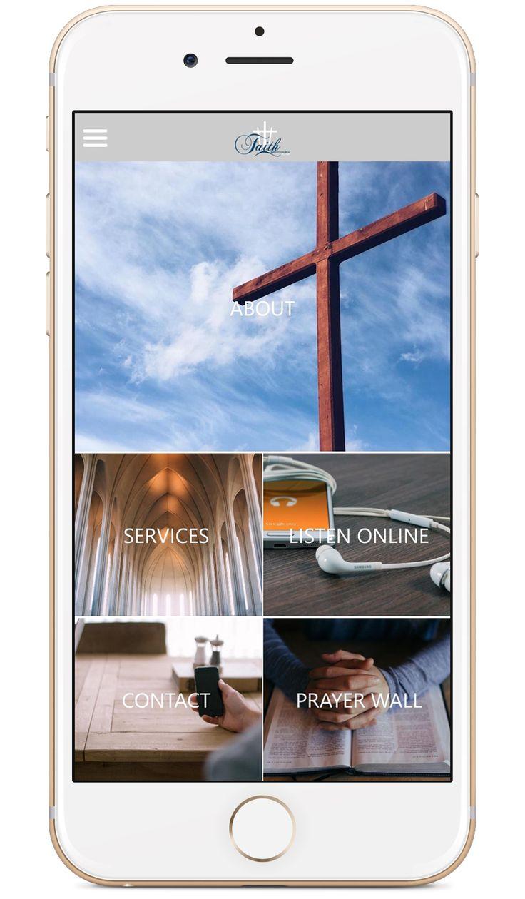 Faith West End's custom church app built by Tithe.ly - #churchapps.  Get a custom church app for you church - $0 setup and $0 for first six months!  http://get.tithe.ly/mobile-church-app/  #mobileapp #churchapp #mobiledesign #appdesign #appsforchurches #churchapps