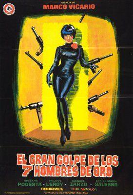 Seven Golden Men Strike Again (Il grande colpo dei sette uomini doro) (1966, Italy, Spain)