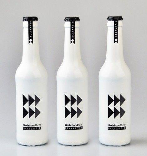 Homebrew labels by Slovakian designer Martin Fek | 34 Coolest Food Packaging Designs Of2012