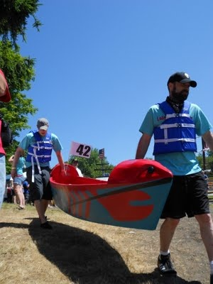 Compete In The 2012 Cardboard Boat Race With Friends