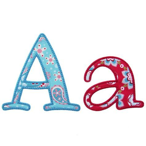 HAVE:: Cute Applique Alphabet - Embroidery Boutique
