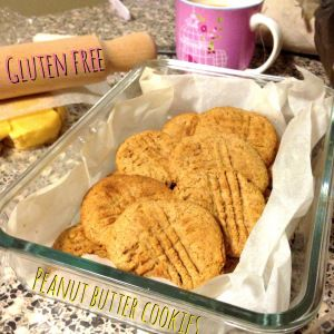 Peanut Butter Cookies - Gluten free and Dairy Free!