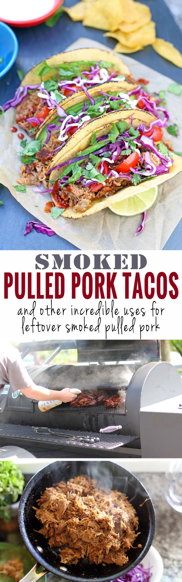 Smoked Pulled Pork Tacos, and other incredible uses for leftover pulled pork!