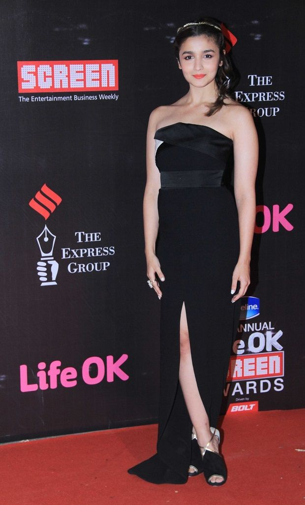 Alia Bhatt at Life OK Screen Awards 2015