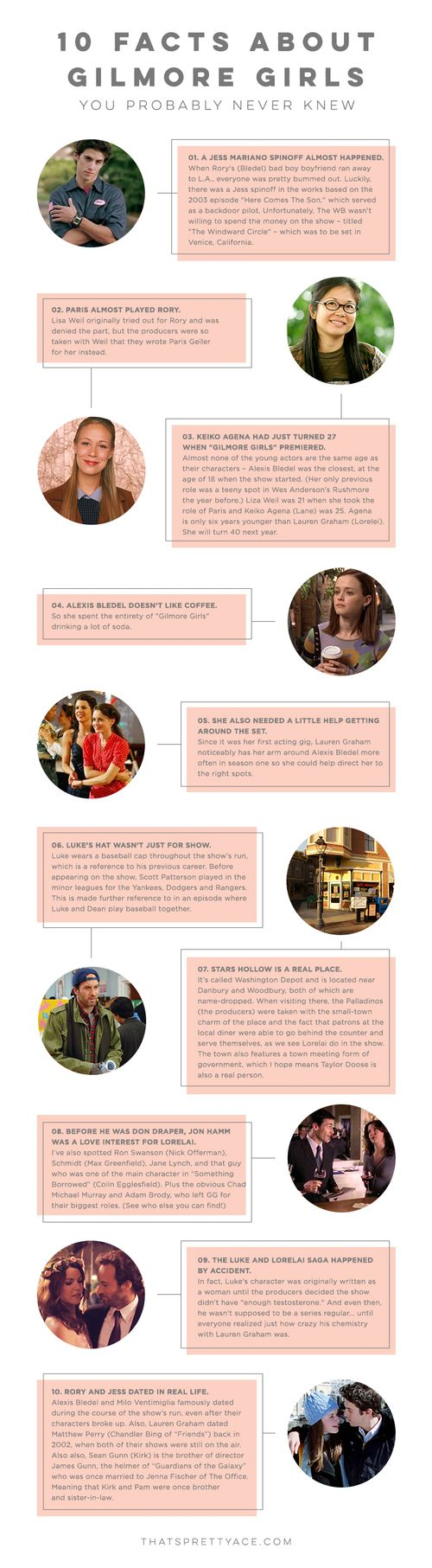 10 Facts About Gilmore Girls You Probably Never Knew — that's pretty ace